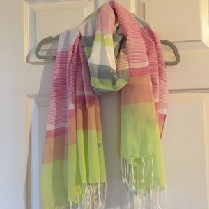 J. Crew Factory Striped Scarf